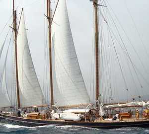 Six maxis and superyachts participating in the Transatlantic Superyacht & Maxi Regatta 2012