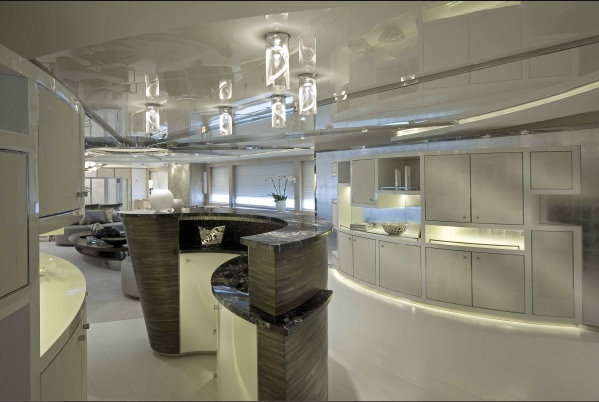 60m megayacht Darlings Danama - Interior