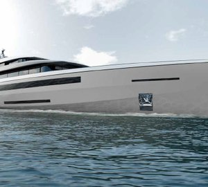 70m Quartostile Yacht Concept for Benetti Design Innovation Project