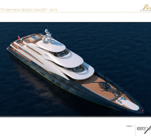 83M Evan K Marshall Yacht Concept for Benetti Design Innovation Projects