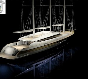 Orucoglu Shipyard working on the 40m sailing yacht MISS TOR 130 SCHOONER