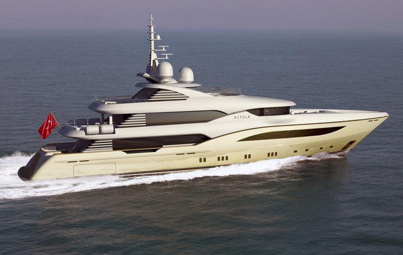 Bilgin 164 superyacht Alfulk by Bilgin Yachts