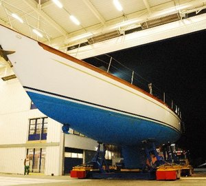 New Holland Jachtbouw refit: Ron Holland designed 90ft charter yacht BOO TOO