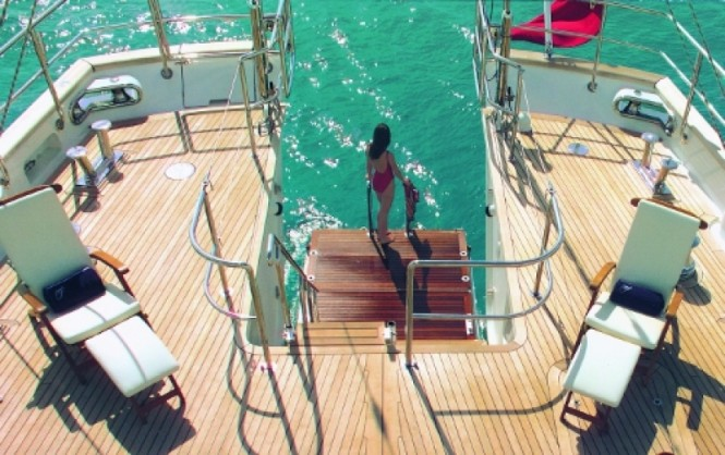 Charter Yacht Felicita West - Swimming Platform