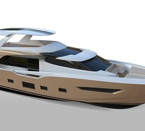 Couach Yachts working on the 26m motor yacht 2600 FLY with launch in 2013