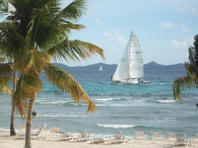 Fabulous Nanny Cay Marina situated in a popular Caribbean yacht charter destination - Tortola