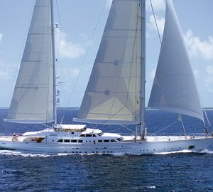 Perini Navi sailing yacht Felicita West available for charter in Northern Europe (Norway, Sweden, Denmark, St Petersburg and Stockholm)