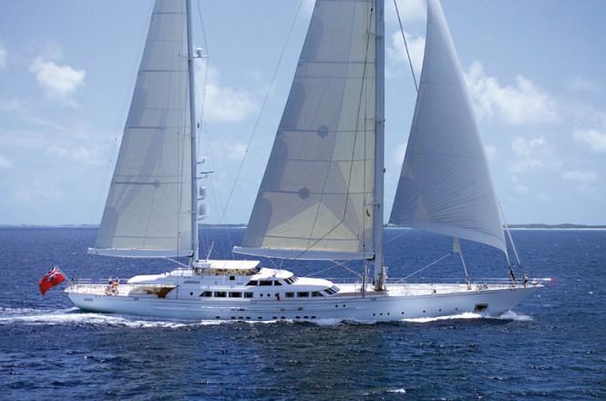 Felicita West yacht sailing