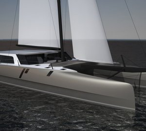 First sailing catamaran yacht GUNBOAT 78 to be completed in the USA
