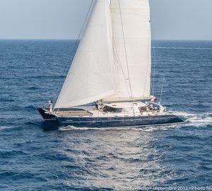 JFA luxury charter yacht ROSE OF JERICHO (ex Sun Tenareze) on display at the next Antigua Charter Yacht Show