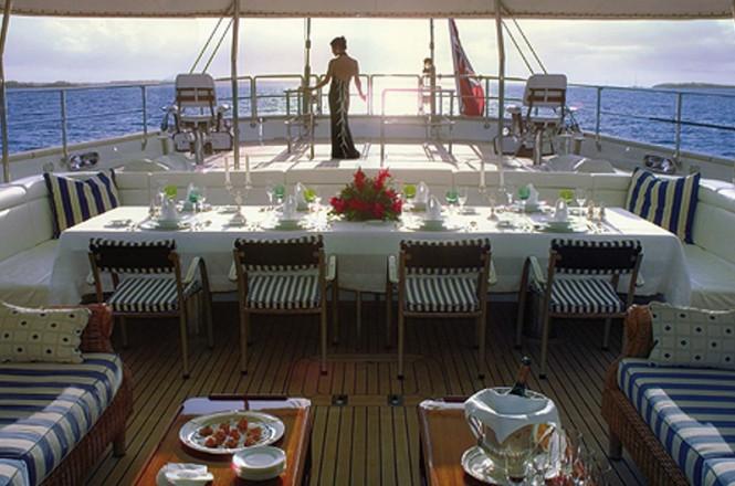 Luxury aboard Felicita West yacht