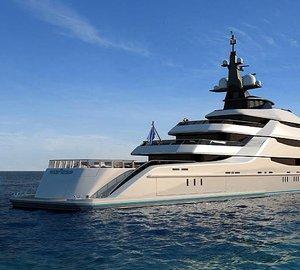 Sea trials for the 85m Oceanco megayacht Y708