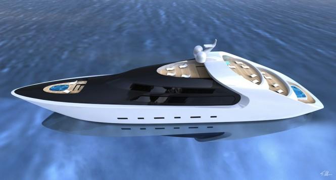 Luxury superyacht QUILLON by Scott Henderson