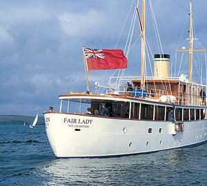 Motor yacht FAIR LADY to undergo a 6-month winter refit at Pendennis Palma