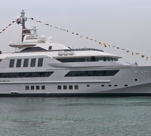 Newly launched CRN 125 motor yacht J'ADE - 7th 60m superyacht built by CRN Shipyard