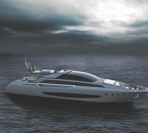 New 37m motor yacht MYTHOS - the first aluminium planing superyacht by RIVA