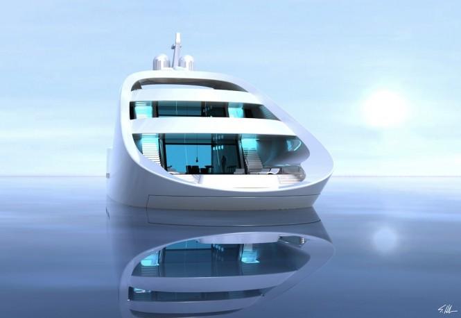 Scott Henderson designed superyacht QUILLON