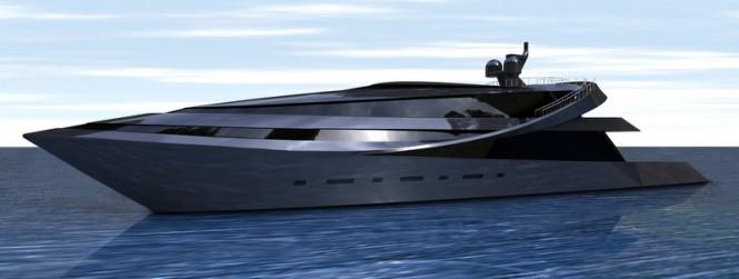 Superyacht MANTA concept designed by Scott Henderson