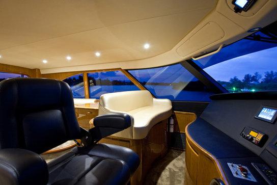 Seakeeper M26000 Equipped Motor Yacht Viking 82 Enclosed
