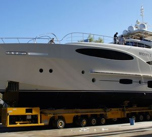 Newly launched Vulcan 32 metre RPH superyacht BRONKO I by Vicem with delivery end of November 2012