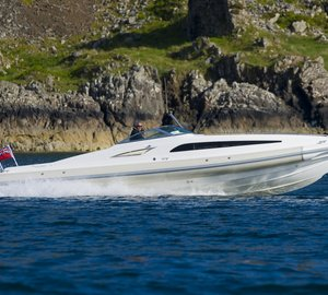 Magnificent 10m STING superyacht tender by Scorpion