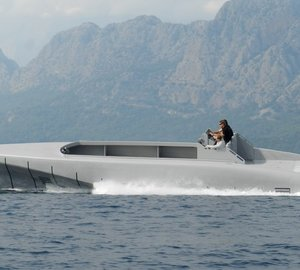 First sea trials successfully completed by the 14m Silver Arrows Marine GRANTURISMO superyacht tender