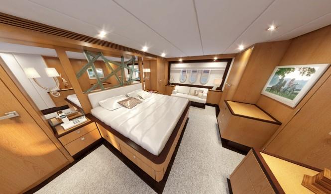26m Continental III Yacht by Wim van der Valk