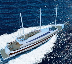 Superyacht Miss Tor Schooner 130 to be delivered by Orucoglu Shipyard in June 2013