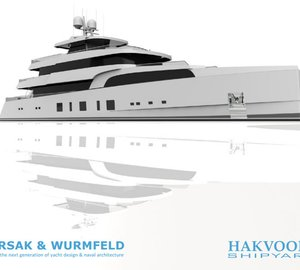 Breathtaking 45m Persak & Wurmfeld Motor Yacht Concept for Hakvoort Shipyard