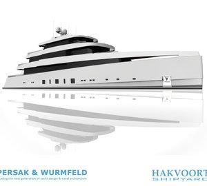 Impressive 60m Persak & Wurmfeld Motor Yacht Concept for Hakvoort Shipyard