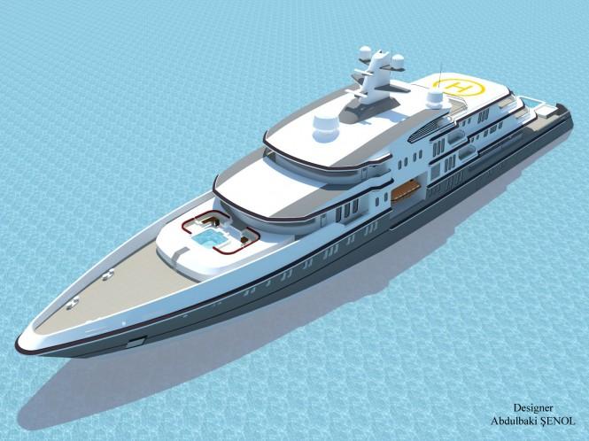 90m Senol Luxury Yacht Concept