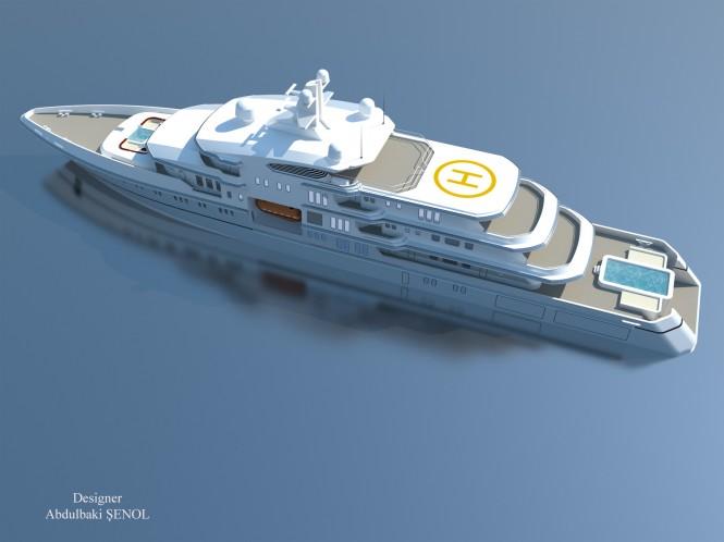 90m Senol Megayacht Concept