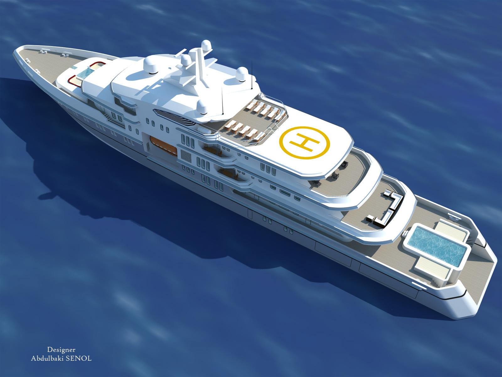 90m Senol Superyacht Design