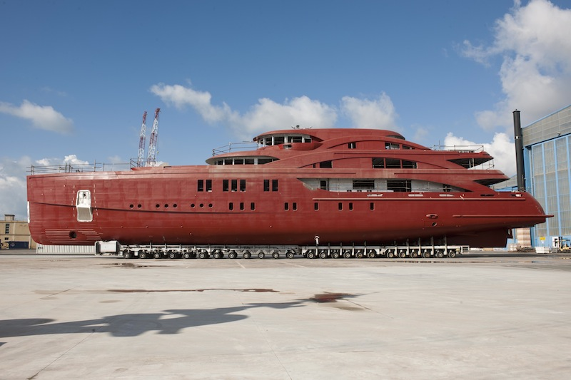 Benetti superyacht FB265 - the second largest yacht following the 90m megayacht FB262
