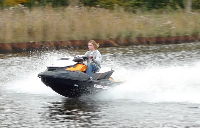 First Two Electric Waverunners in the world designed and