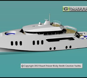 """Highly Innovative """"Dual Speed"""" Hull Design by Gmotion Yachts"""
