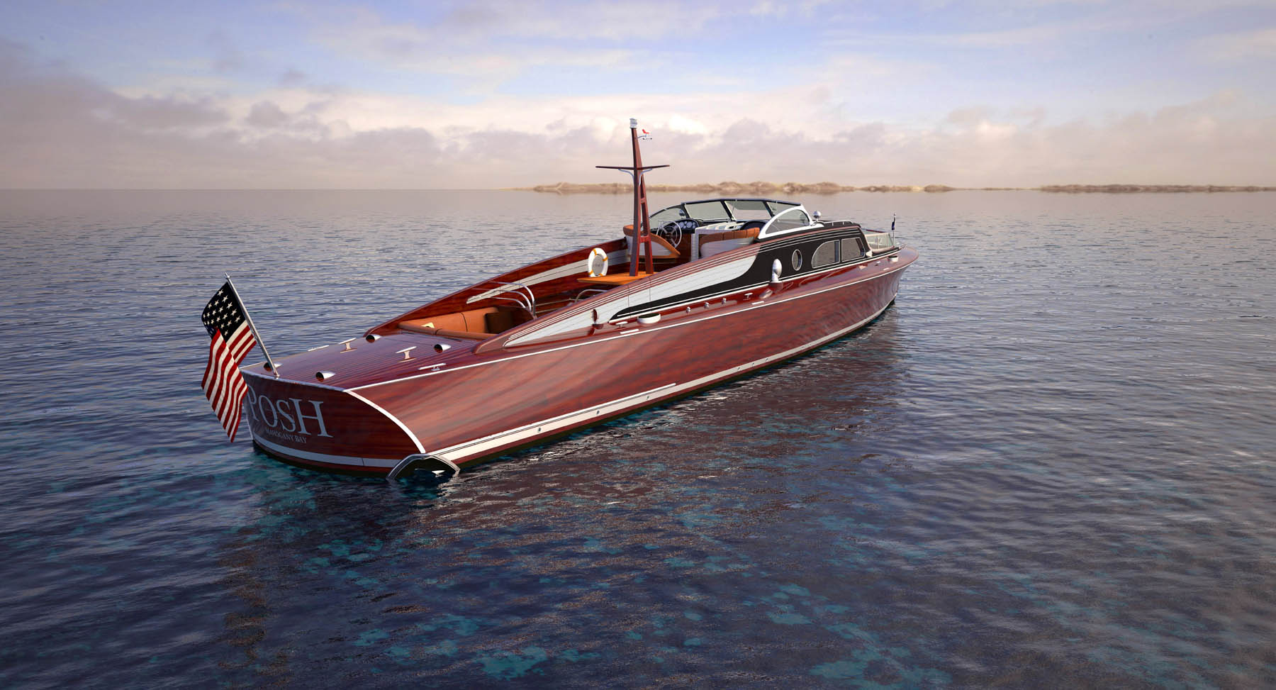 Luxurious mega yacht tender POSH — Yacht Charter ...