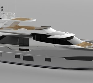 New 2600 Fly superyacht under construction at Couach Yachts