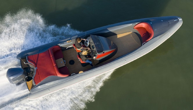 Luxury yacht tenders by Scoprion to feature marine electronics by Raymarine