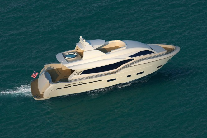 MISS TOR YACHT 80  superyacht by Orucoglu Shipyard