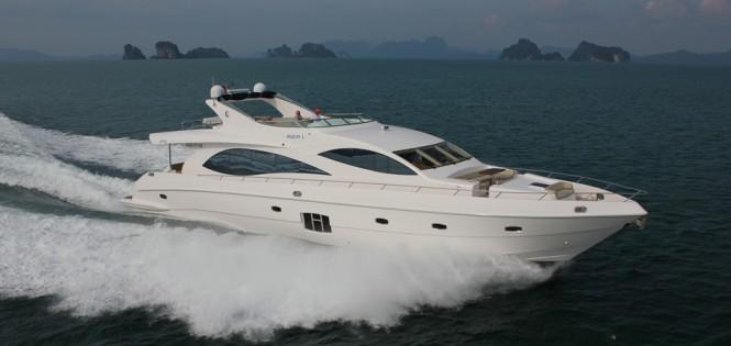 Majesty 88 Superyacht - Profile