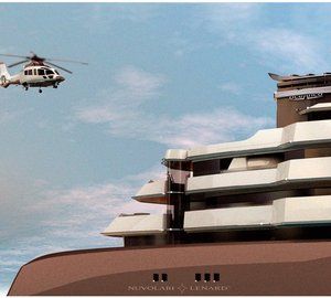 120m Oceanco yacht PA122 with design by Nuvolari Lenard Design