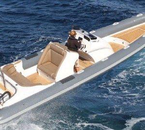 Scorpion Serket 88 yacht tender - chase boat to the Benetti Classic 120' charter yacht Giorgia