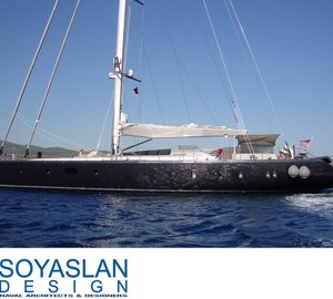 Soyaslan Denizcilik designed 35m sailing yacht MUSIC by Aydos Yatcilik