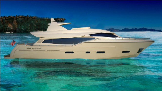 Super Yacht MISS TOR YACHT 80 to be delivered in 2013