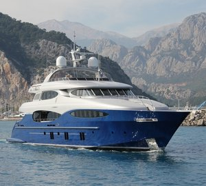 New images of the Vicem Vulcan 46m luxury yacht LE CAPRICE V