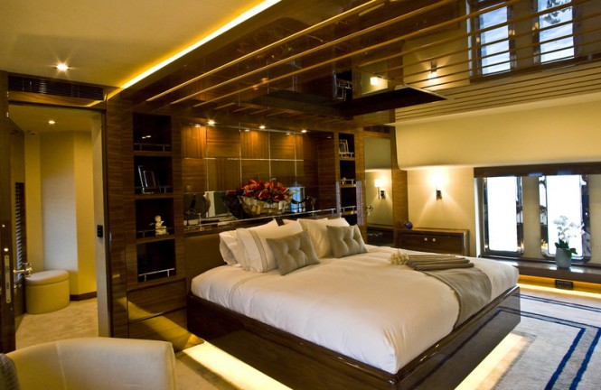 46 m Royal Craft luxury yacht 60 Years - Master Cabin