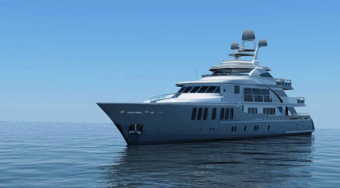 47m motor yacht Orient Star (Project Mina) by CMB Yachts