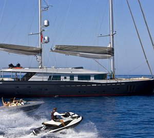 Images and video of the 46 m Royal Craft Yachting motorsailer yacht 60 YEARS