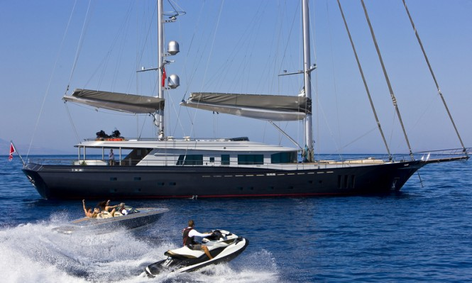 60 Years Yacht with tenders and water toys